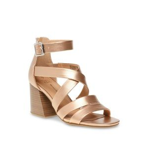 Time and Tru Rose gold sandals 9 NWT